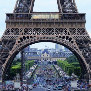 Vista della Tour Eiffel
